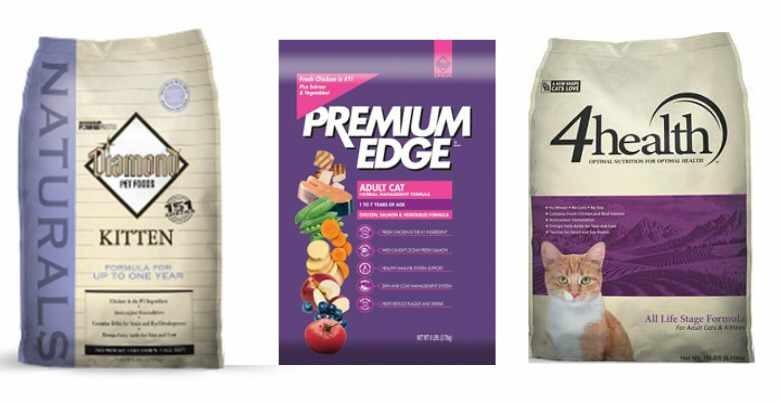 Diamond Cat Food Recall